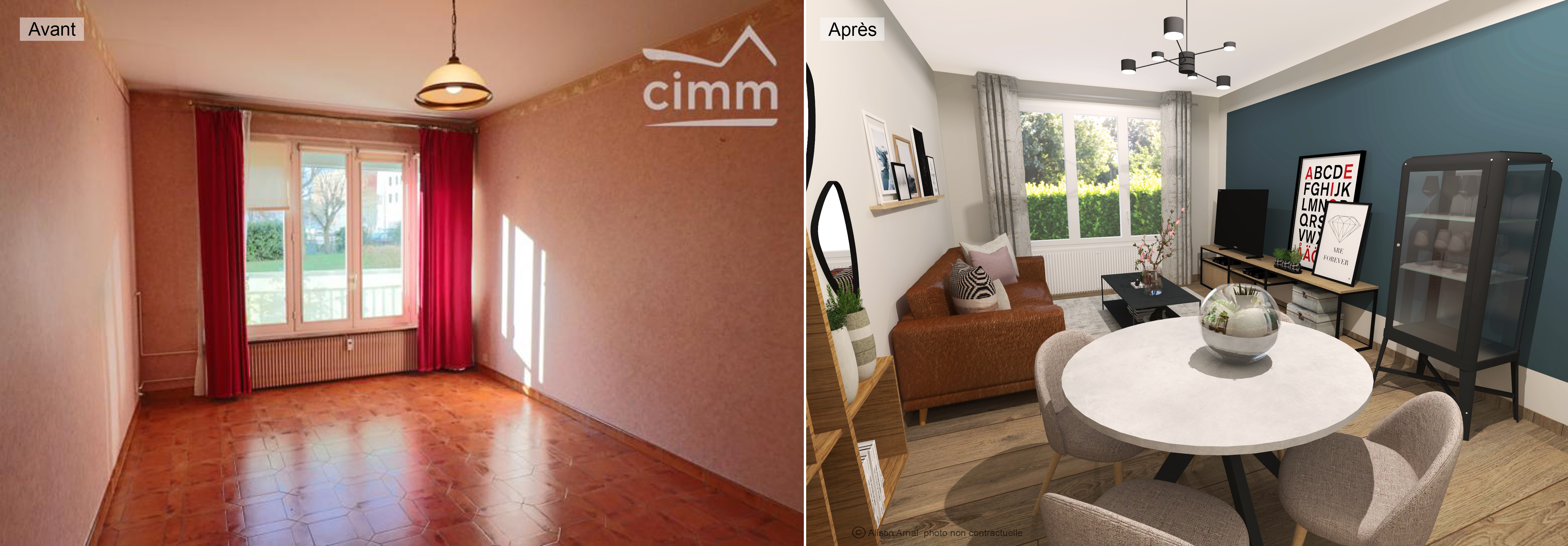 Home Staging Photos Avant Après home staging | cimm immobilier chenove